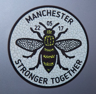 Car sticker, Harrison Street, Stalybridge