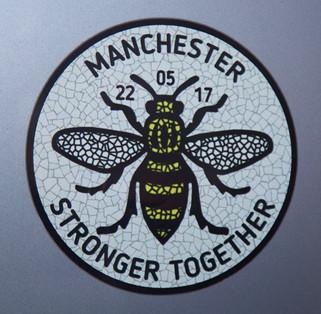 Car sticker, Harrison Street, Stalybridge