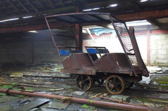Abandoned slate mine, Blaenau Ffestiniog, Wales