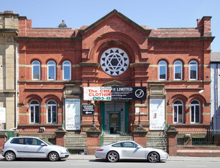 Former synagogue, Cheetham Hill Road