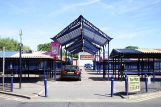 Longsight market, Dickeson Road, Longsight