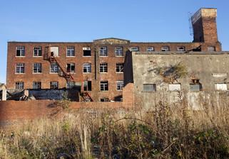 Overbridge & Springfield Mills, Sherbourne Street West, Salford