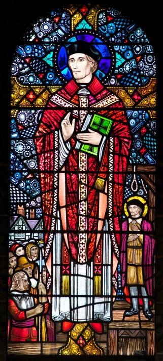 St Oswald & St Edmund Arrowsmith Roman Catholic church, Liverpool Road, Ashton-in-Makerfield