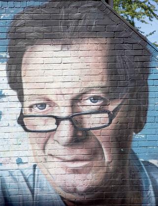 Tony Wilson, Tib Street, Northern Quarter