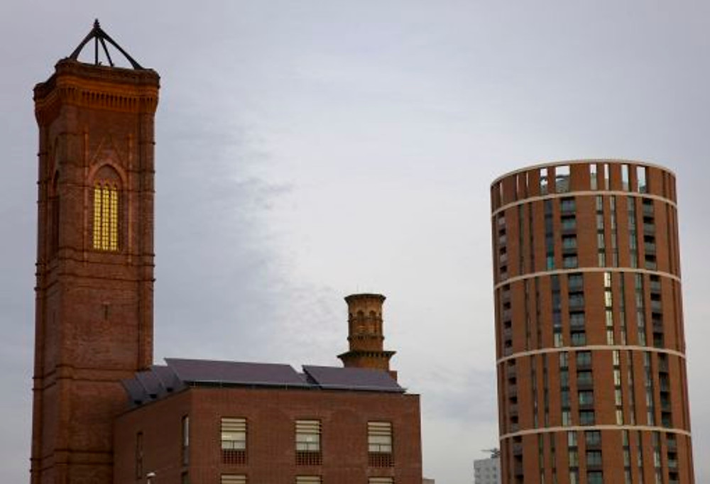 6. Candle Tower (2009), Leeds, next to the Tower Works.