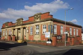 Halliwell Library, Shepherd Cross St, Halliwell, Bolton