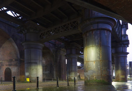 Railway viaducts, Castlefield
