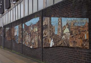 Hulme Mural, Stretford Road, Hulme