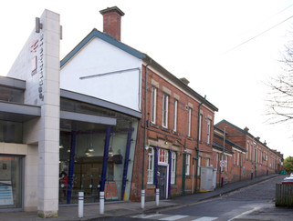 Stalybridge railway station, Market Street, Stalybridge