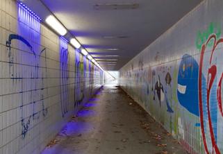Pedestrian subway, Irlam Heights, Salford