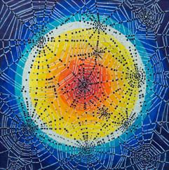 Webs, 2020, 29x29cm