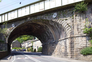 Railway Viaduct, Market Street, Broadbottom, Tameside