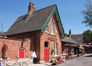 Former Urmston railway station, Station Road, Urmston, Trafford
