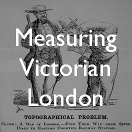 Measuring Victorian London: Mogg's cab fare map