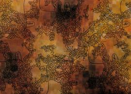 Underground City, 2007 70x50cm