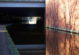 M60 motorway bridge, Ashton Canal, Audenshaw
