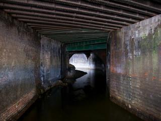 Irk culvert, Red Bank, Manchester