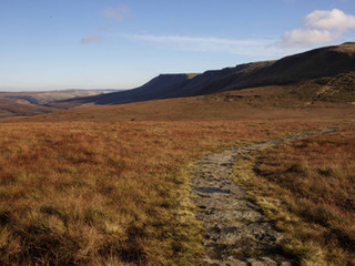 Kinder Scout from Mill Hill