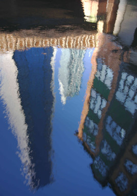 Reflections, Rochdale Canal, Deansgate
