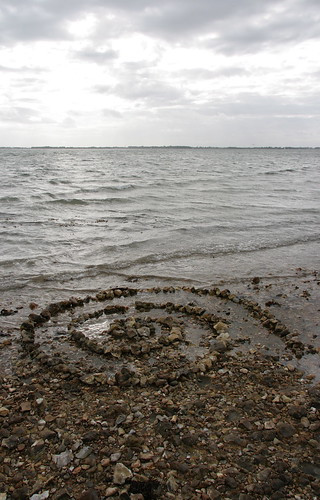 Pilsey Island spiral, West Sussex, 2008