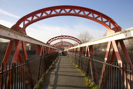 Broughton Bridge, River Irwell, Salford