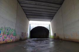 Entrance to the Medlock culvert, Bradford