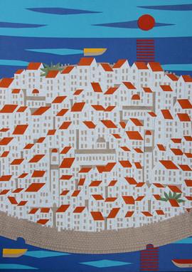Dubrovnik, 2008, 50x70cm
