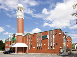 Manchester Central Mosque, Upper Park Road, Rusholme