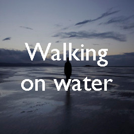 Walking on water: the path to Hilbre Island