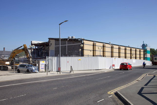 Demolition of Cineworld cinema, Railway Road, Stockport