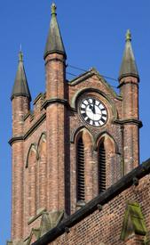St Matthew's church, Chester Road, Stretford