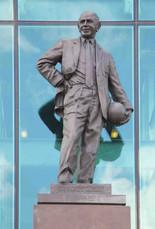 Sir Matt Busby, Old Trafford stadium, Sir Matt Busby Way, Old Trafford