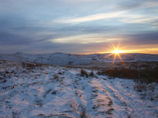 Mount Famine from Kinder Scout
