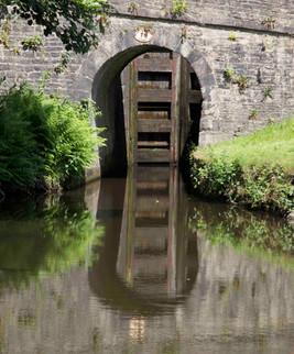 Lock, Huddersfield Narrow Canal, Uppermill, Saddleworth