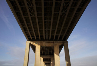 M60 motorway bridge, Manchester Ship Canal, Eccles