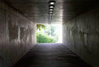 Pedestrian underpass, M60, Portwood, Stockport