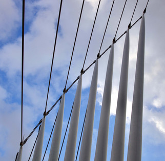 Footbridge, Media City, Salford Quays