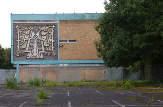 Tree of Life mural, Irwell Riverside, Salford