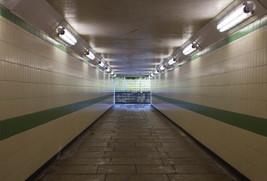 Pedestrian subway under Peel Way, Bury