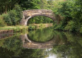 Bridge, Liverpool & Leeds Canal, Langtree, Wigan