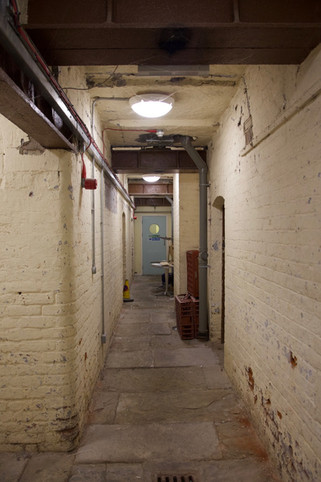 Former prison under the Produce Hall, Market Place, Stockport