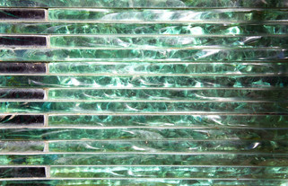 Glass facing, Fennel Street near Manchester Cathedral