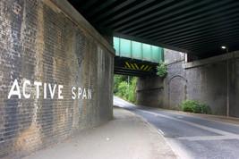 Railway bridge, Chorley Road, Langtree, Wigan
