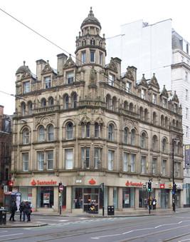 Santander Bank, St Ann Street/Cross Street