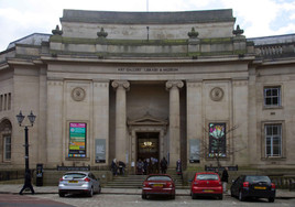 Art Gallery, Library & Museum, Le Mans Crescent, Bolton