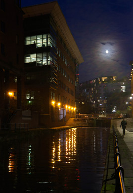 Rochdale canal near Whitworth Street West