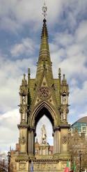Albert Memorial, Albert Square