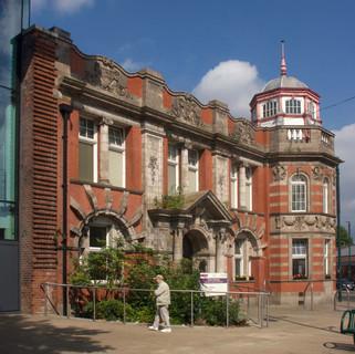 Eccles Library, Church Street, Eccles, Salford