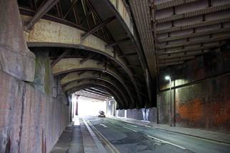 Railway viaduct, Salford