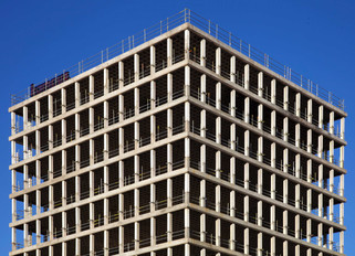 Building under construction, Aytoun Street